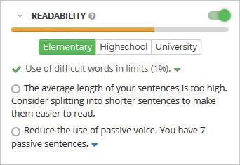 Content SEO Readability