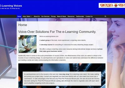 E-Learning Voices